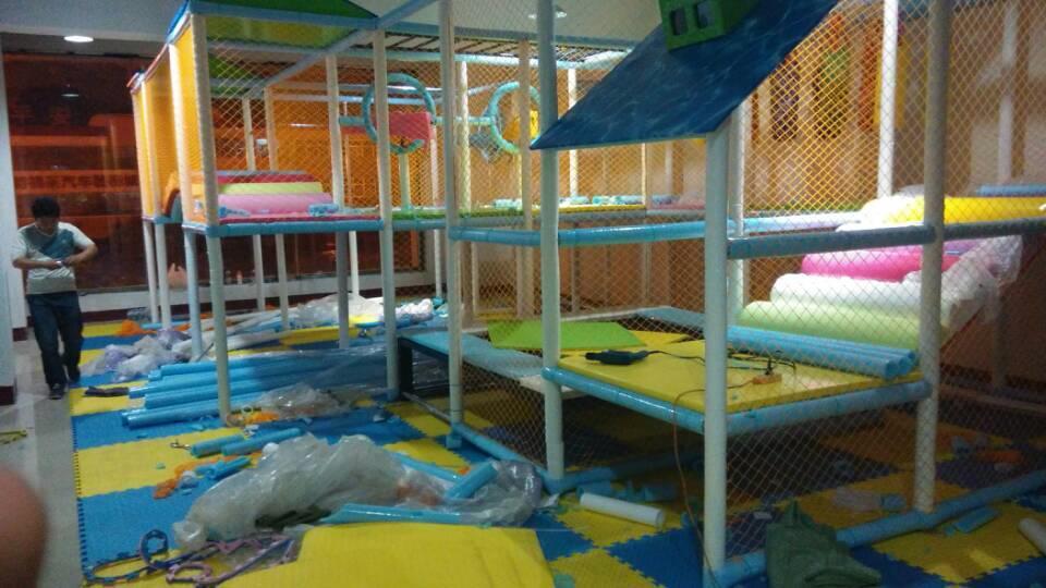 Children Play Centre Home Restrant Big Size Soft Playground Pirate