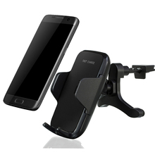 Multi Funtion Car Qi Wireless Charger Phones Mount Holder Fast Charging For Samsung Note8 S6 S7