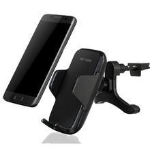 Multi-Funtion автомобиль QI Беспроводной Зарядное устройство телефоны держатель быстрой зарядки для Samsung Note8 S6 S7 Edge S8 плюс iPhone X 6 7 8 плюс