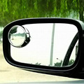 Driver 2 Side Wide Angle Round Convex Car Vehicle Mirror Blind Spot Auto RearView for all car 2pcs per set Auto Rear View
