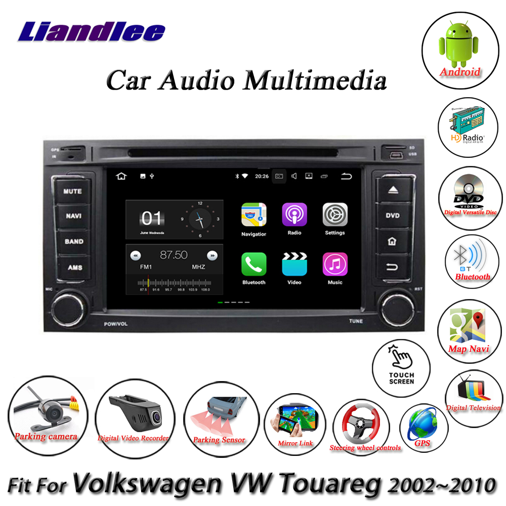 Liandlee Car Android System For Volkswagen VW Touareg 2002~2010 Radio CD DVD Player GPS Nav Navi Navigation HD Screen Multimedia