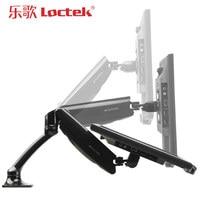 Loctek DLB502 Gas Spring Full Motion Desktop For 10 27 LCD LED Monitor Holder TV Mount