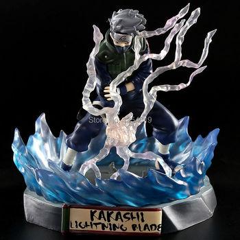 New anime NARUTO figure Hatake Kakashi 16cm pvc action figure painted Lightning Blade Ver. Kakashi Doll Collectible Model Toy