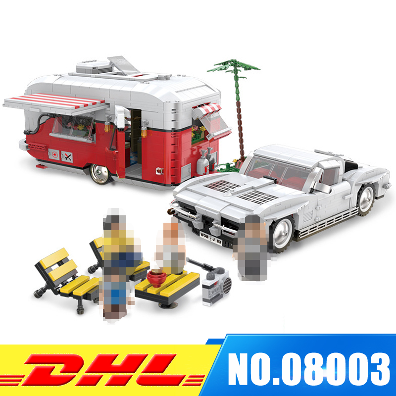 In Stock XINBAO 08003 New Creative Series The MOC Camper Set Children Educational Building Blocks Bricks Toys Model Gifts шина pirelli p zero rosso asimmetrico 285 45 r19 107w