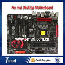 100% working desktop motherboard for msi Z87-GD65 GAMING LGA1150 DDR3 system mainboard fully tested