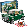 bela 10568 Lepin Technic MINI Cooper MK VII building bricks blocks New year Gift Toys for children Model Car Bela 10242