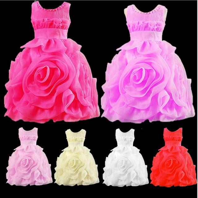 6f271eea0 Rose Flower 6 Colors 1 To 7 Age Birthday Photo Wedding Evening Party  Festival Elegant Spring