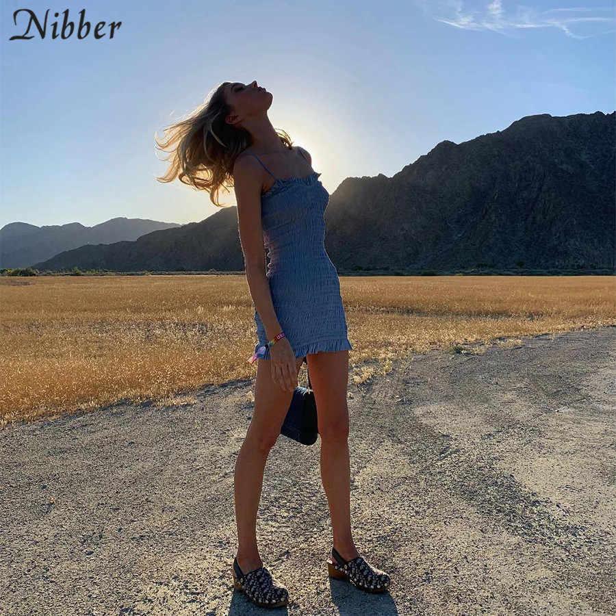 Nibber Летнееженскоеоблегающеевечернееэлегантноекороткоеплатьемининашнуровкеповседневныйпляжныйнаряд