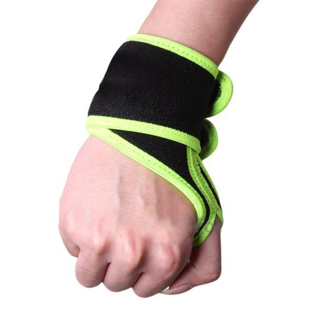 Reversible Sports Wrist Brace Wrist Support Wrap for Badminton Tennis Weightlifting Basketball