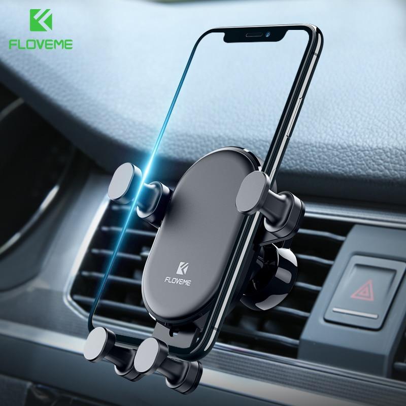 Floveme Gravity Car Phone Holder For Iphone X Xs Max Xr