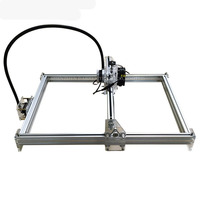 1PC DIY laser machine laser engraving machine cutting plotter 300mw mini carving engraving area 35 * 50cm CNC Laser