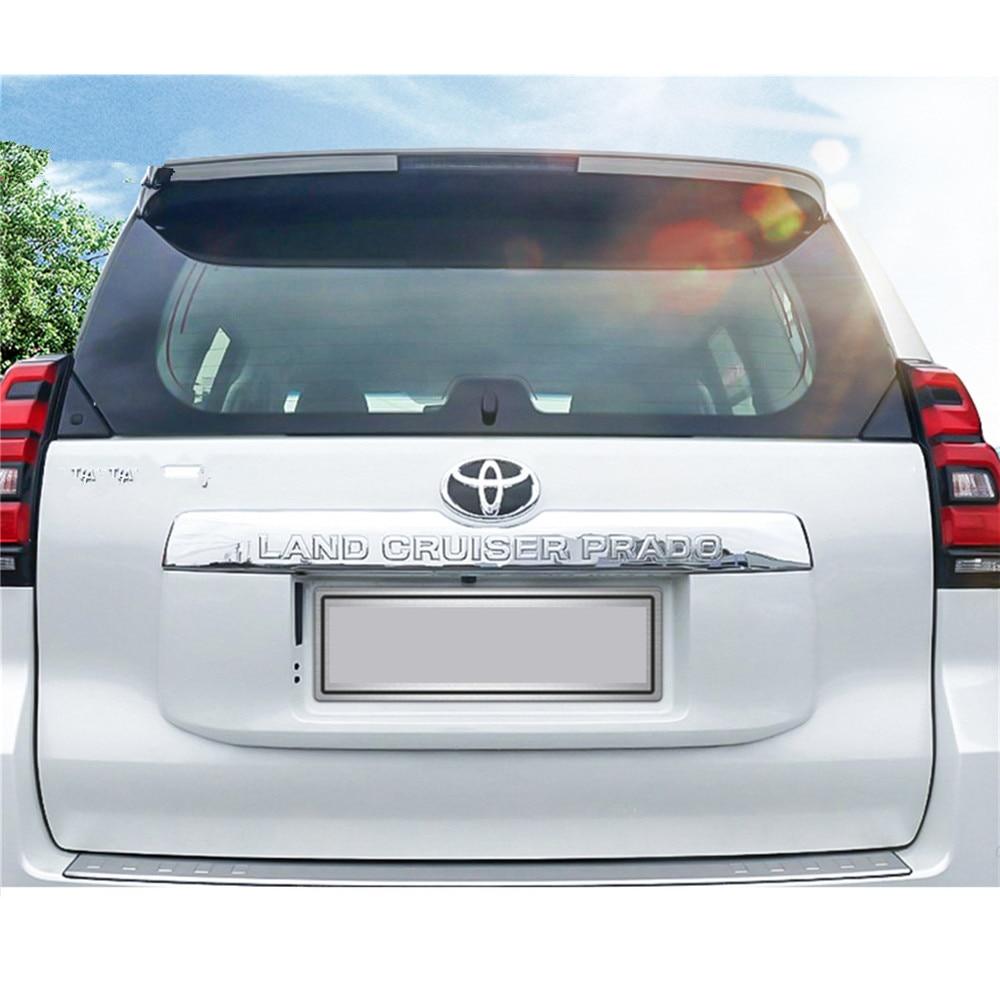 Back Door Trim for Toyota Land Cruiser Prado 150 LC150 FJ150 2018 The Tail Door AccessoriesBack Door Trim for Toyota Land Cruiser Prado 150 LC150 FJ150 2018 The Tail Door Accessories