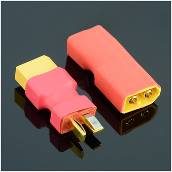 1pcs T Male Plug to XT60 Male / T Female Plug to XT60 Female Adapter For RC Helicopter Quadcopter LiPo Battery Plug Connector