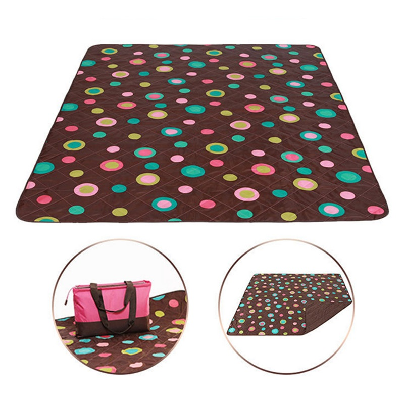 2017 folding beach picnic blanket camping mat waterproof moistureproof <font><b>baby</b></font> crawling blanket tent bed piknik natte de plage