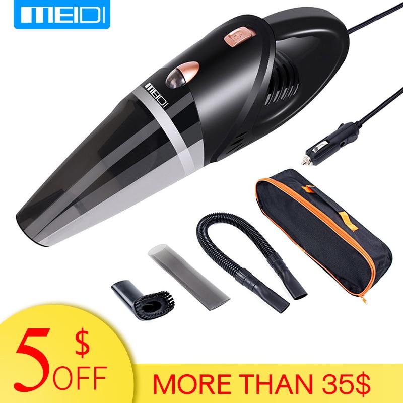 MEIDI  Car Vacuum 12V 106W Wet&Dry Dual Use Car Vacuum Cleaner Portable Car Handheld Vacuum Cleaner 14.7FT(5M) Power Cord   vacuum cleaner