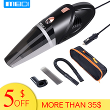 MEIDI  Car Vacuum 12V 106W Wet&Dry Dual Use Cleaner Portable Handheld 14.7FT(5M) Power Cord
