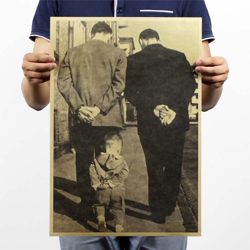 Винтажный постер Фильм Ретро аниме автомобиль плакаты и принты кофе/кухня/гостиная декоративная живопись крафт-бумага наклейки на стену - Цвет: 069