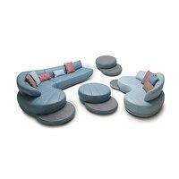 Гостиная диван Большой угловой диван кресло электрические диване Натуральная кожа секционные muebles де Сала moveis para casa