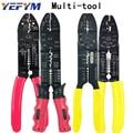 Multitool Crimpen Zangen Elektrische Terminals Kombination Multi Werkzeuge Abisolierzange Schneiden 0 75 mm2 6mm2-in Zangen aus Werkzeug bei