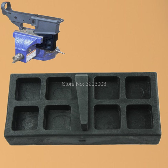 US $6 58 |Fun Hunting  223 5 56 Gun Smith Tool Vise Block for Clamping AR15  Rifle Lower AR15 Tool Kit 5 56  223 Lower Upper Receiver Vise -in Scope
