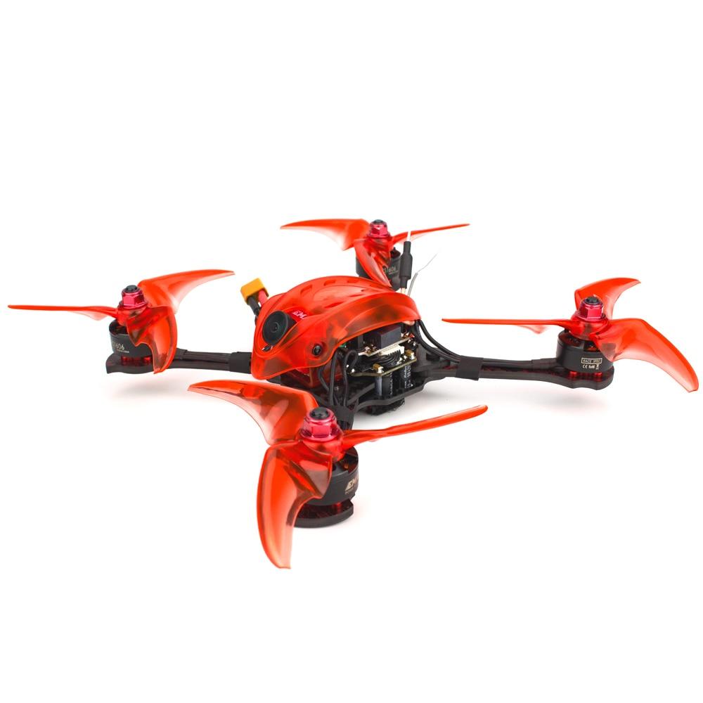 Livraison gratuite Emax Babyhawk R pro 4 pouces F4 Mini Magnum III BLHeli32 3-6s RS1606 3300kv BNF Frsky D8 FPV drone de course
