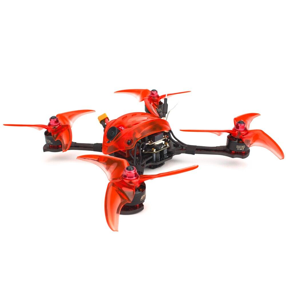Emax Babyhawk R pro 4 inch RC Vliegtuig F4 Mini Magnum III BLHeli32 3 6s RS1606 3300kv BNF frsky D8 FPV racing drone met Gift-in Onderdelen & accessoires van Speelgoed & Hobbies op  Groep 1
