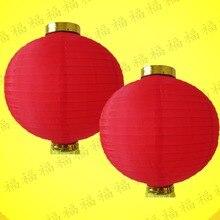 Party-Decorations Lanterns Supply-Lamp Silk Birthday-Event Wedding Chinese New-Year Diameter-20cm