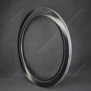 Image 3 - 2019 OEM Brilliant Paintless UD Glossy Mirror Surface Carbon T700C Road Rims Tubular/Clincher Road Disc Brake
