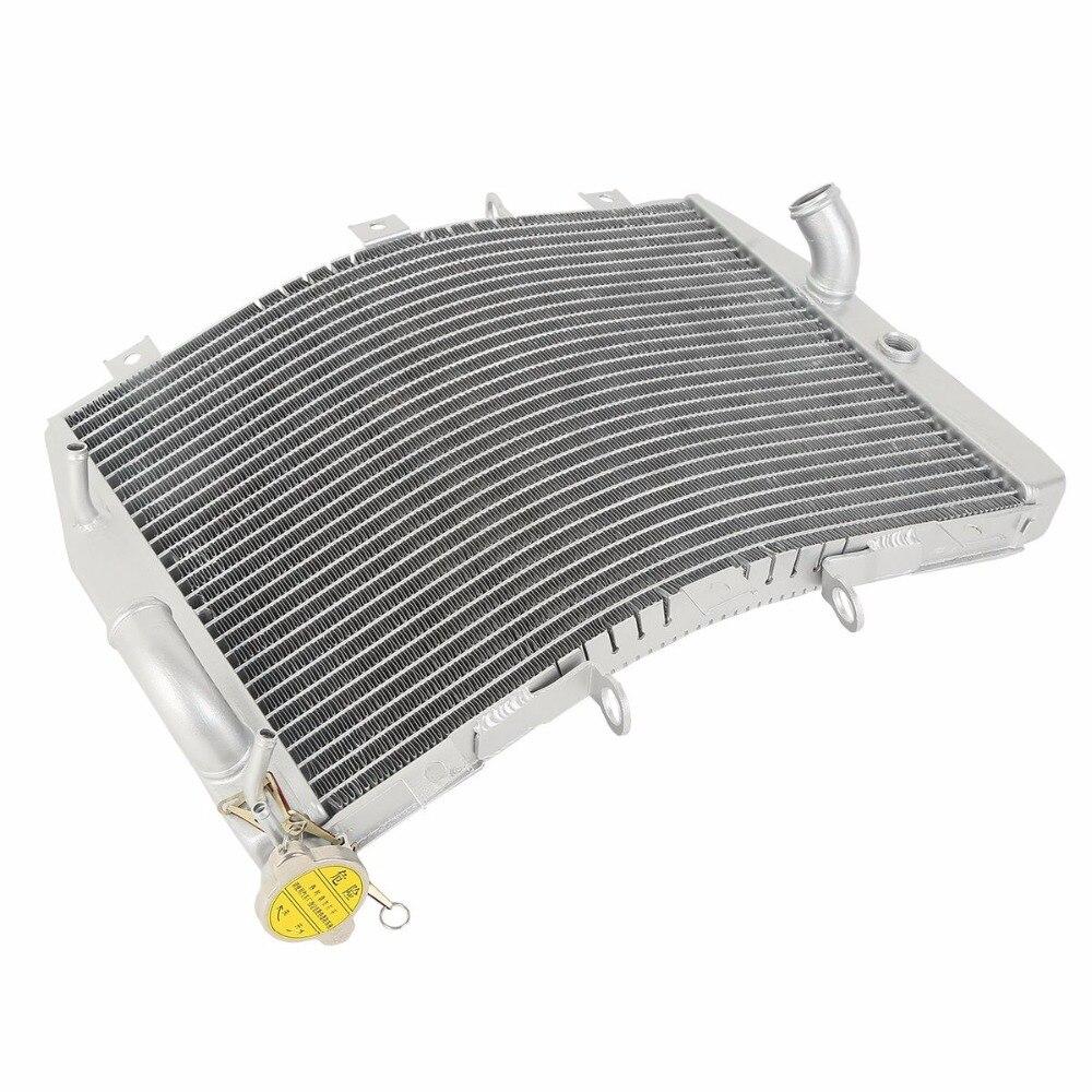 Aluminium Moto Radiateur Refroidisseur De Refroidissement pour KAWASAKI NINJA ZX-6R ZX6R ZX636 1998-2002 1999 2000 2001 ZX600 G1 G2 j1-J4