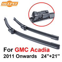 QEEPEI Wiper Blade For GMC Acadia 2011 Onwards 24 21 High Quality Iso9001 Natural Rubber Clean