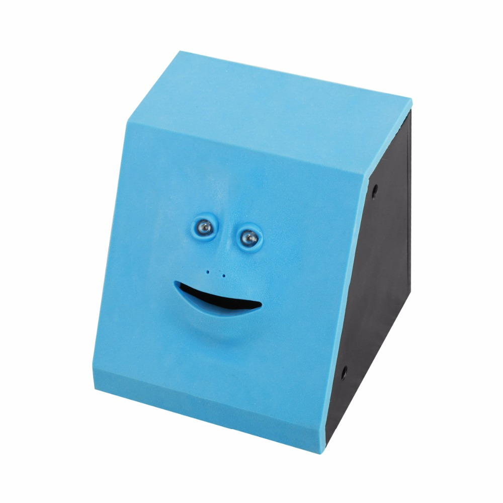 Nosii Face Money Eating Box Cute Facebank Piggy Bank Coins Box Money Coin Saving Bank for Children Toys Gift Home Decoration