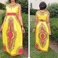 Индийский Платье Бросился Женщины Индийские Сари Сари Сари 2016 Мода Фараон Печати Национальной Ветер Классический Высокая Растянуть Большой Платье