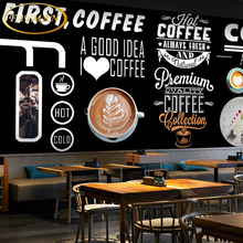 Custom 3D photo wallpaper Retro hand-painted graffiti mural teahouse cafe hotel commercial street wallpaper papel de parede