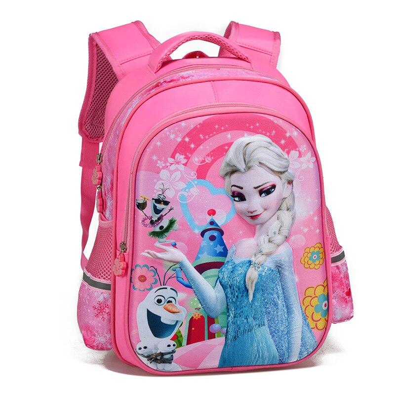 d0614568df13 Новая мода принцесса рюкзак Ортопедия школьные сумки для детей девочки дети  начальной школы книга Сумка