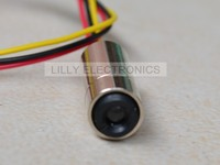 NEW 12x40mm Red Laser Dot Diode Module 650nm 658nm 30mW With TTL 0 20KHZ