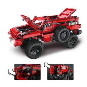 Image 3 - Техническая серия MOC, набор автомобилей Marauder, строительные блоки, развивающие игрушки для детей, модель подарка, совместима с Lepining Bricks