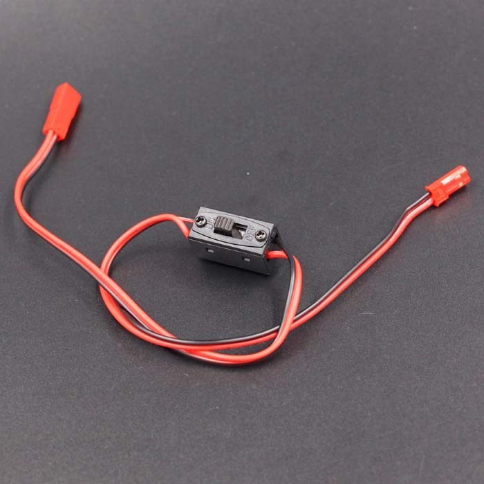 RC On/Off 1/10 1/8 Parts JST Connector servo Receiver Switch Nitro Power RC Car Airplanes boat parts
