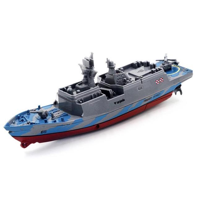 À grande échelle de simulation de télécommande électrique pour bateaux Jouets Navires de guerre Bateaux de patrouille Speedboat cnFLdO