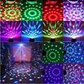 Magic Color Led Освещение Сцены KTV DJ Chirstmas Лампы 3 Вт Звук активизированный Кристалл Дискотечный Шар Xmas Праздник Стороной Комната декор Модные TR