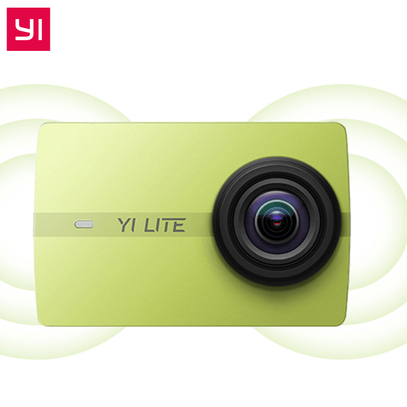Original Xiaomi YI Lite Action Camera Real 4K Sports Camera Bluetooth 16MP EIS WIFI 2 Touch LCD Screen 150 Degree Lens