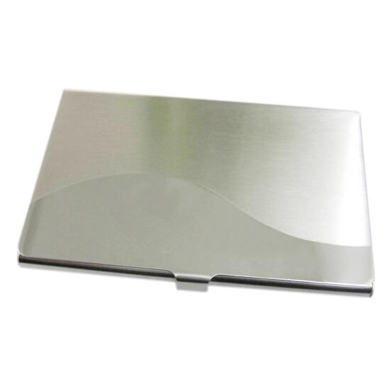 Kalender, Planer Und Karten Sosw-edelstahl Aluminium Fall Übertragung Fall Kommerziellen Visitenkarte Kreditkarte Halter Gekrümmten Oberfläche Karton
