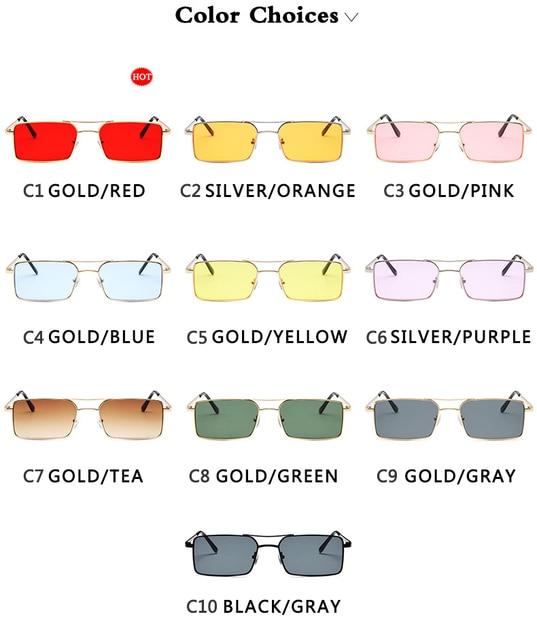 Gafas De Sol clásicas De estilo Retro para mujer, anteojos De Sol femeninos, De lujo, Steampunk, De Metal, con espejo Vintage, con UV400, 2021 6