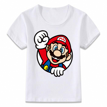 T-Shirt Super Mario Unisexe Enfants