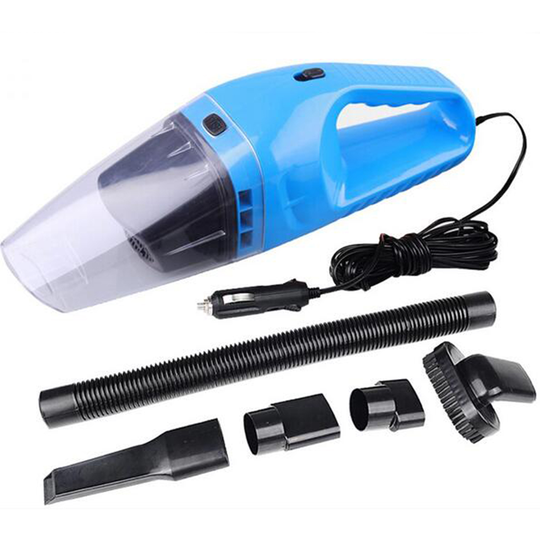 Portable Electric Vacuum Cleaners : Free shipping autos parts portable car vacuum cleaner wet