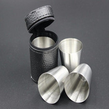 Stainless Steel Wine Cups Set