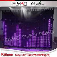 Alibaba expressar novos produtos 2015 produtos inovadores flexível led stage fundo p35mm flightcase grátis|led stage backdrop|led stage|led backdrops -
