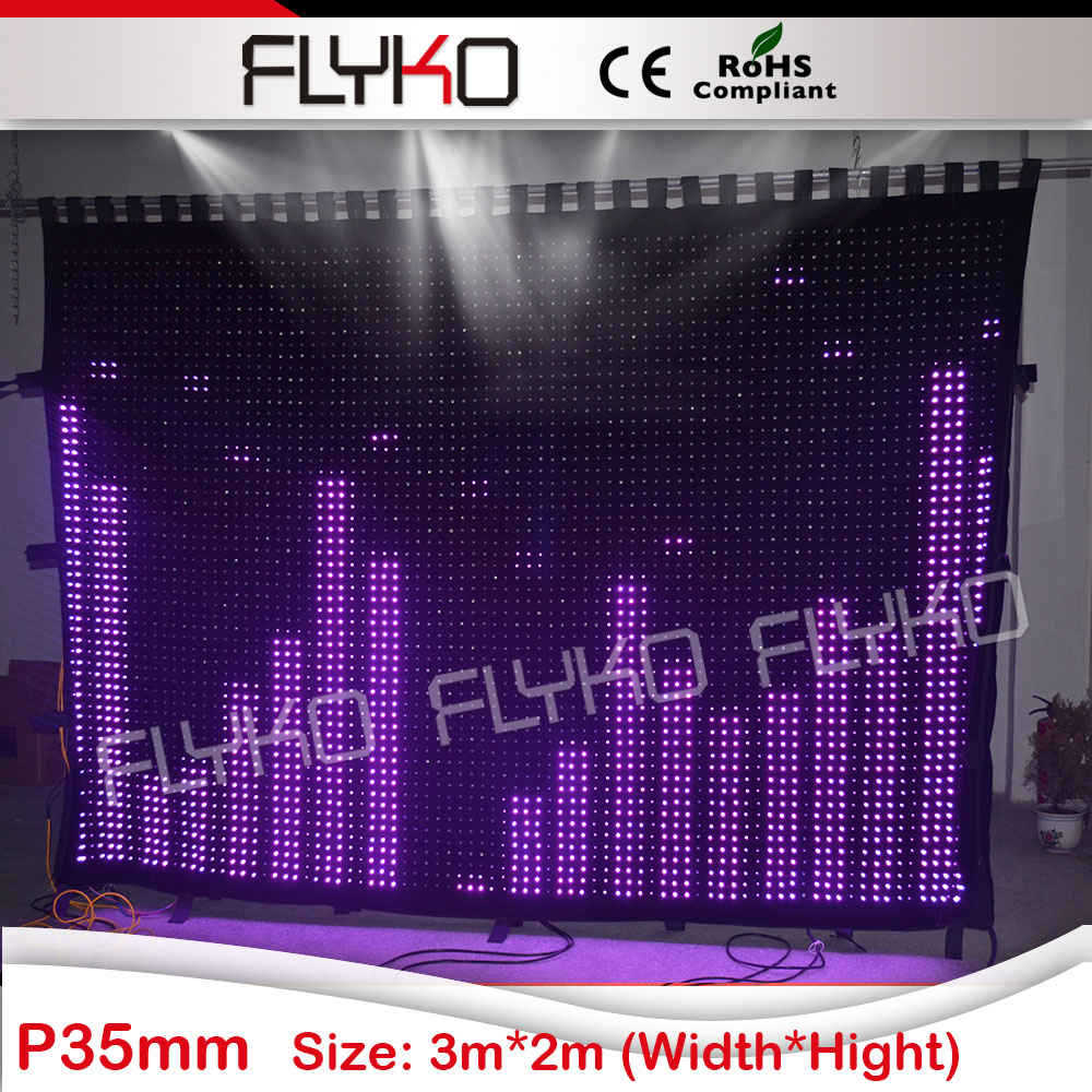 alibaba express new products 2015 innovative products flexible led stage backdrop P35mm Flightcase Shipping