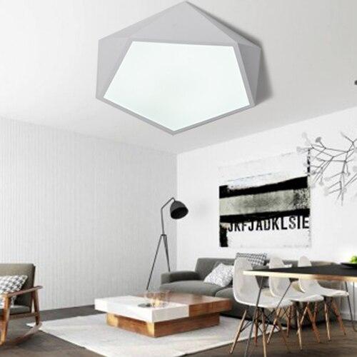 Minimalist Study Room: Yan Xin Lighting White New Metal Modern Minimalist Bedroom