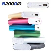휴대 전화 충전기 상자에 대 한 4x18650 배터리 보조베터리 케이스 홀더 xiaomi에 대 한 DIY 키트 18650 USB 충전 스토리지 쉘