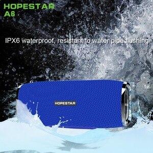 Image 4 - HOPESTAR A6 سمّاعات بلوتوث 35W الثقيلة باس العمود مضخم المحمولة اللاسلكية مكبر الصوت ستيريو للماء مع قوة البنك